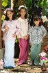 ALEAH Reese Bow Kurung in Blossom Pink