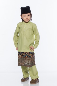 MiQA in Lime Green with Instant Samping
