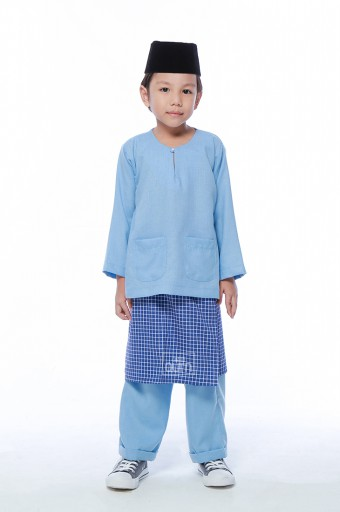 Harraz in Sky Blue With Instant Samping