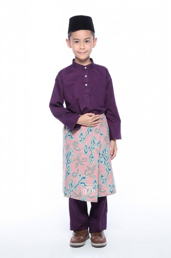Miqa in Plum Purple with Instant Samping