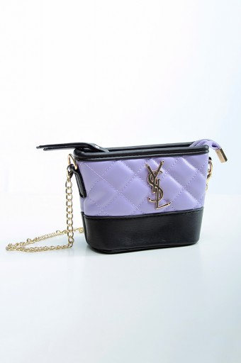 Bucket Bag in Purple
